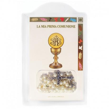 """Libretto """"La mia prima Comunione"""" con rosario"""