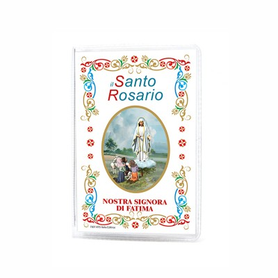 "Our Lady of Fatima - Booklet ""The Holy Rosary and Mysteries"" with rosary"