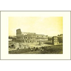 THE COLOSSEUM Benoist - Colour Print