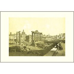ROMAN FORUM Benoist - Colour Print