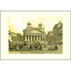 PANTHEON D'AGRIPPA Benoist - Colour Print