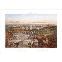 BENOIST Veduta generale presa dalla cupola di San Pietro, Roma