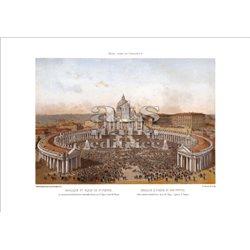 BENOIST Basilica e Piazza San Pietro, Roma