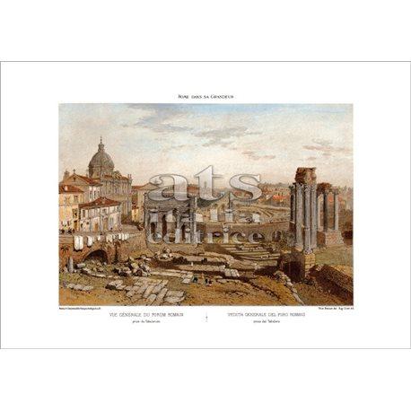 BENOIST Veduta generale del Foro Romano, Roma