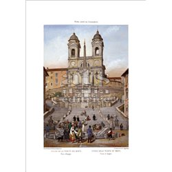 BENOIST Trinita' dei Monti, Roma