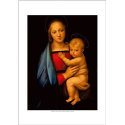 MADONNA WITH CHILD Raffaello - Palatine Gallery, Florence