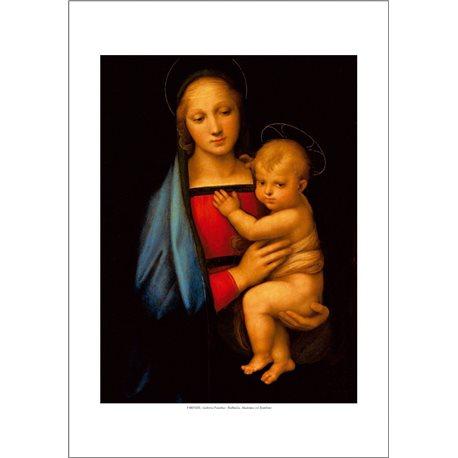 MADONNA WITH CHILD Raffaello - Palatine Gallery, Florence