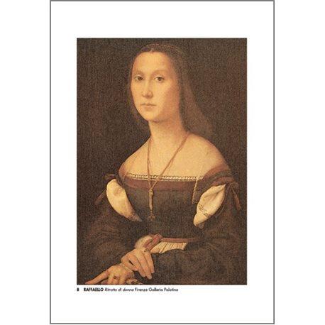 PORTRAIT OF WOMAN Raffaello - Palatine Gallery, Florence