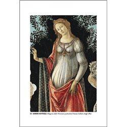 ALLEGORIA DELLA PRIMAVERA (particolare) Botticelli - Galleria degli Uffizi, Firenze