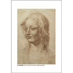 STUDIO DI TESTA FEMMINILE Leonardo - Galleria degli Uffizi, Firenze