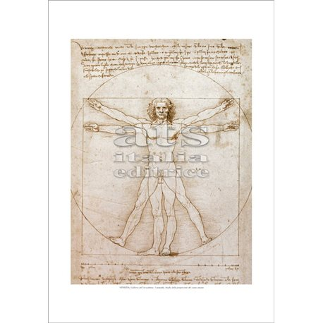 STUDY OF PROPORTION - VITRUVIAN MAN