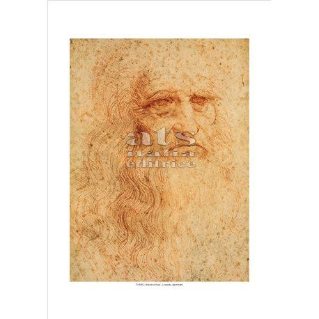 AUTORITRATTO Leonardo - Biblioteca Nazionale, Torino