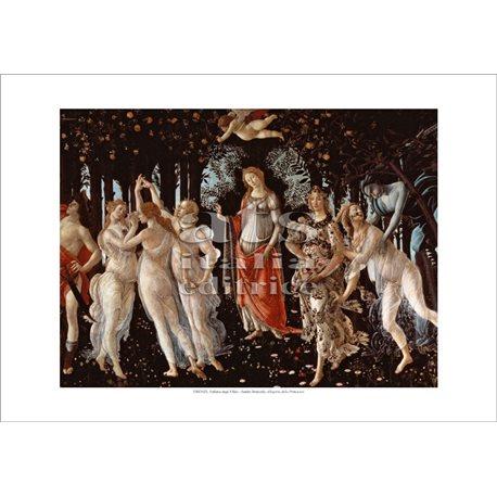 ALLEGORIA DELLA PRIMAVERA Botticelli - Galleria degli Uffizi, Firenze