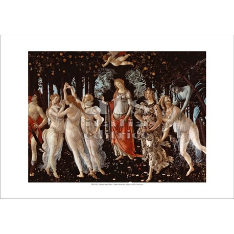 ALLEGORY OF SPRING Botticelli - The Uffizi Gallery, Florence