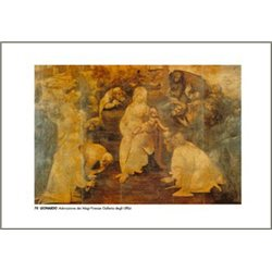 ADORAZIONE DEI MAGI Leonardo - Galleria degli Uffizi, Firenze