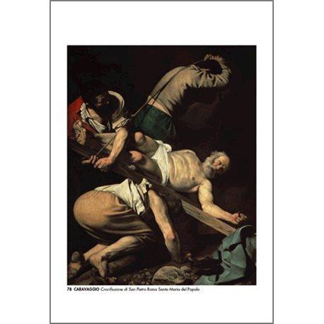 THE CRUCIFIXION OF ST PETER Caravaggio - Santa Maria del Popolo, Rome