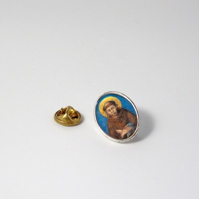 SAINT FRANCIS OF ASSISI cimabue - Metal pin