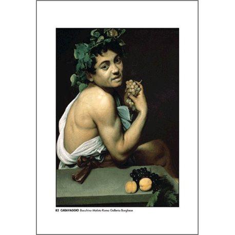 BACCHINO MALATO Caravaggio - Galleria Borghese, Roma