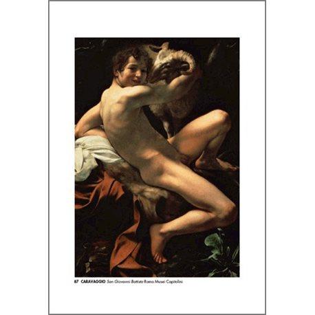 SAN GIOVANNI BATTISTA Caravaggio - Galleria Nazionale di Palazzo Corsini, Roma