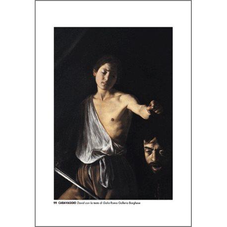 DAVID AND GOLIATH Caravaggio - Borghese Gallery, Rome