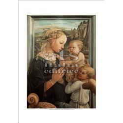 MADONNA WITH CHILD Filippo Lippi - The Uffizi Gallery, Florence
