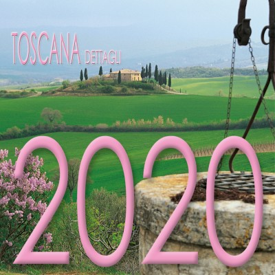 Calendar 8x8 cm TUSCANY DETAILS