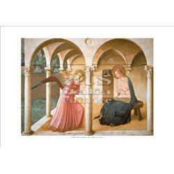 ANNUNCIAZIONE Beato Angelico - Museo di San Marco, Firenze