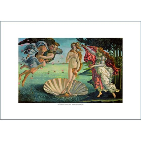NASCITA DI VENERE Sandro Botticelli (paricolare) Galleria degli Uffizi, Firenze
