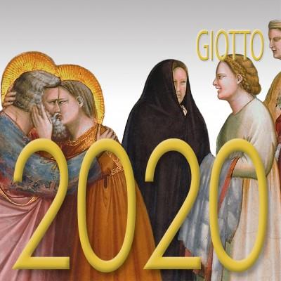 Calendar 8x8 cm GIOTTO
