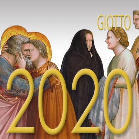 Calendario 8x8 cm GIOTTO
