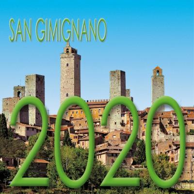 Calendar 8x8 cm SAN GIMIGNANO