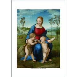 MADONA DEL CARDELLINO Raffaello, Galleria degli Uffizi - Firenze