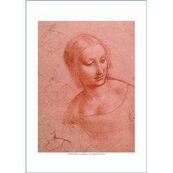 STUDIO DI FIGURA FEMMINILE Leonardo, Galleria dell'Accademia - Venezia