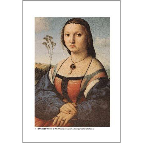 RITRATTO DI MADDALENA DONI Raffaello - Galleria Palatina, Firenze
