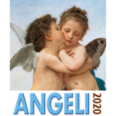 Calendar 16x17 cm ANGELS FIRST KISS
