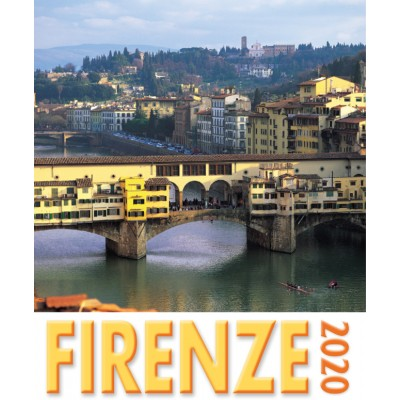 Calendar 16x17 cm FLORENCE - OLD BRIDGE