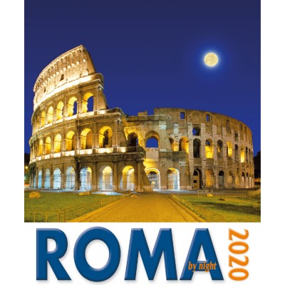 Calendar 16x17 cm ROME COLISEUM NIGHT