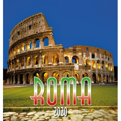 Calendar 31x34 cm COLISEUM NIGHT