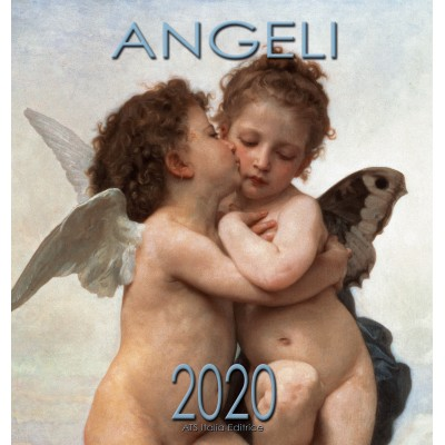 Calendar 31x34 cm ANGELS FIRST KISS