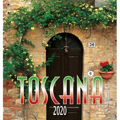 Calendar 31x34 cm TUSCANY DOOR