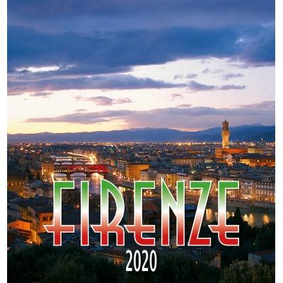 Calendario 31X34 FIRENZE  - PANORAMA NOTTE