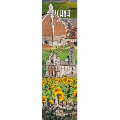 Calendar 6x20,5 cm TUSCANY FLOWERS