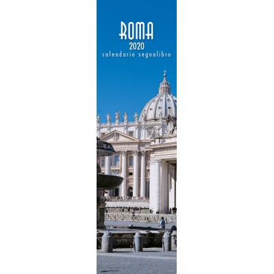 Calendar 6x20,5 cm ROME SAINT PETER SQUARE