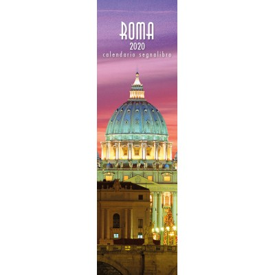 Calendar 6x20,5 cm ROME SAINT PETER NIGHT