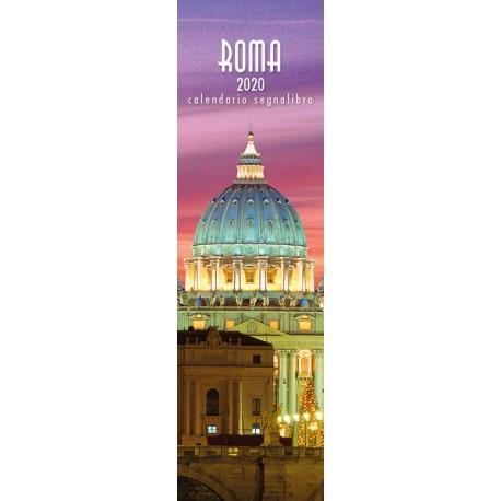 Calendar 6x20,5 cm ROME SAINT PETER NIGHT