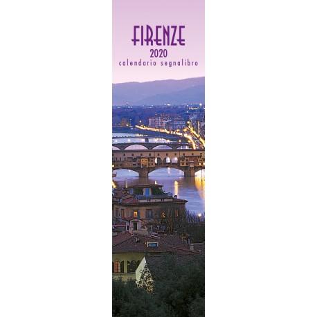 Calendario 6X20 FIRENZE - PONTE VECCHIO ROSA