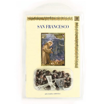 "Booklet ""SAINT FRANCIS"" with rosary"