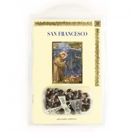"""Booklet """"SAINT FRANCIS"""" with rosary"""