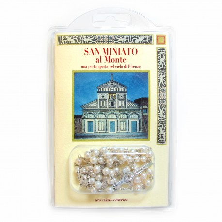 "Booklet ""SAN MINIATO AL MONTE"" with rosary"