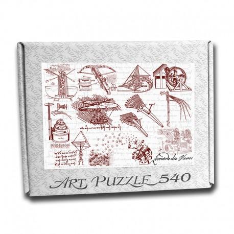 Art Puzzle, The Leonardo's Machines